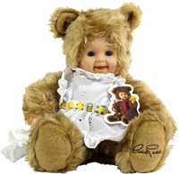 Anne Geddes, Docka, Bear light brown, 30 cm