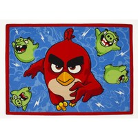 Associated WeaverAngry Birds, Matta, Feathered & furious, 95 x 133 cm