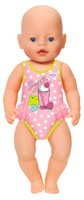 Baby Born - Swimsuits Collection - Baddräkt (Prickig)
