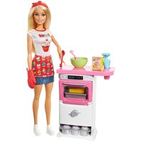 BarbieBakery Chef Doll Playset