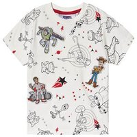 Fabric Flavours Toy Story T-shirt Vit 6-7 years