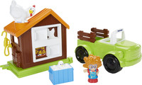 Fisher Price, Little People, Pickup & Hönshus