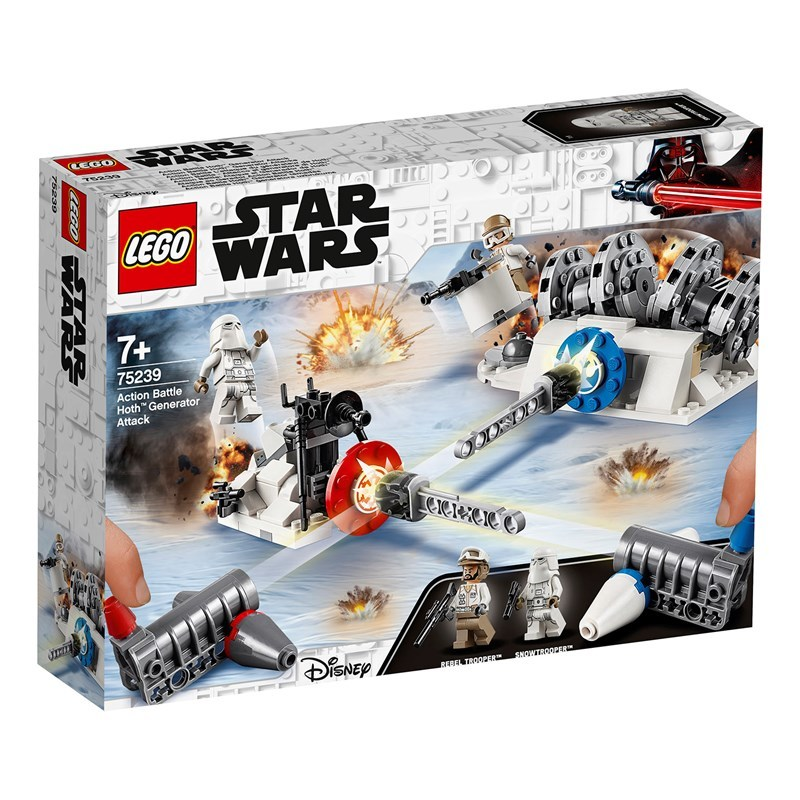 LEGO Star Wars 75239 LEGO® Star Wars™ Action Battle Hoth™ Generator Attack 7+ years