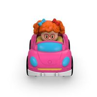 Little People Wheelies Bug car, Starkrosa, Fisher Price