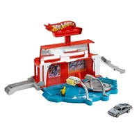 Mattel Hot Wheels, City - Super Spin Car Wash