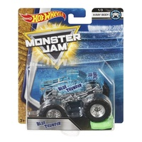 Mattel Hot Wheels Monster Jam - Blue Thunder - X Ray