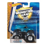 Mattel Hot Wheels, Monster Jam - Nea Blue 1:64