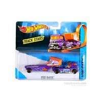 Mattel Hot Wheels Trackin Trucks - Speed Blaster Vehicle