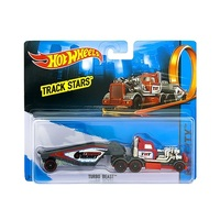 Mattel Hot Wheels Trackin Trucks - Turbo Beast Vehicle