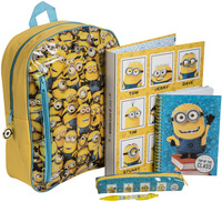 Minions, Filled Backpack Set