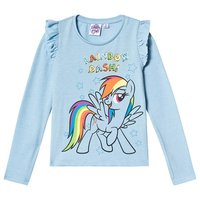 My Little Pony Långärmad T-Shirt Blue Bell Melange 116 cm (5-6 år)