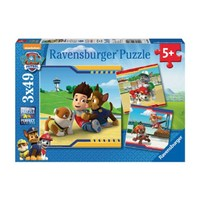 Ravensburger Pussel, Paw Patrol Fury Heroes, 3 x 49 bitar One Size