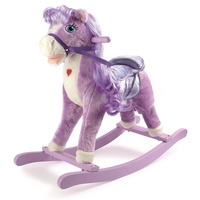 Small Foot, Gunghäst - Purple Pony Rocking Horse