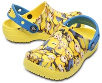 Toffel Fun Lab Clog, Minions, Crocs